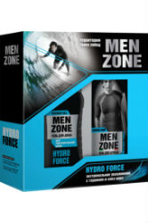 "Купить Набор* подар.""MenZone""""Hydro Force"" (Пена для бритья 200см3+Гель для душа 250мл)"